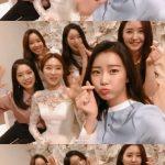 Dal★Shabet、元メンバーカウンの結婚式で久しぶりのメンバー全員集合!