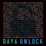 DAY6、待望のJAPAN 1st ALBUM「UNLOCK」発売決定!