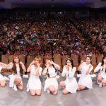 OH MY GIRL BANHANA 「バナナが食べれないサル」 発売記念 日本デビュー Show Case Live 大盛況! 8月29日~東京、大阪でミニライブ+特典会開催!