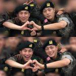 入隊したHighlightユン・ドゥジュン&BTOBウンガァン、軍生活の姿がキャッチされ話題に!「もはや運命!?」