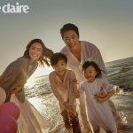 すっかり大きくなったルッキくんとリホちゃん!クォン・サンウ&ソン・テヨン結婚10周年家族写真を公開!