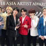 防弾少年団、「2018 Asia Artist Awards」で5冠達成!「ARMYたち、ありがとう」