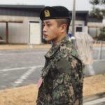 軍入隊中のキム・ミンソク、凛々しい軍服姿を公開し話題!「二等兵の夢」