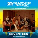 SEVENTEEN「SUMMER SONIC 2019(サマソニ2019)」に出演決定