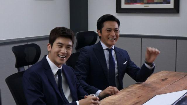 「SUITS」パク・ヒョンシクとチャン・ドンゴン