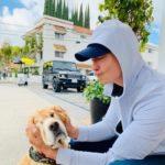 ダニエル・ヘニー、愛犬ロスコとの甘い日常を公開