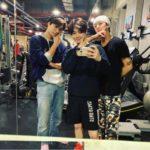 EXOスホ&カイ、VIXXラビの友情スリーショット写真に注目集まる!