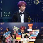 JYJジェジュン AFAオープニング舞台飾る!次世代スター賞受賞し現地メディアの関心集中