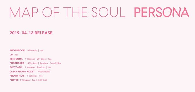 bts. MAP OF THE SOUL  PERSONA