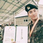 BTOB ウングァン、「男の中の男」特級戦士に選抜され模範となる軍生活送る