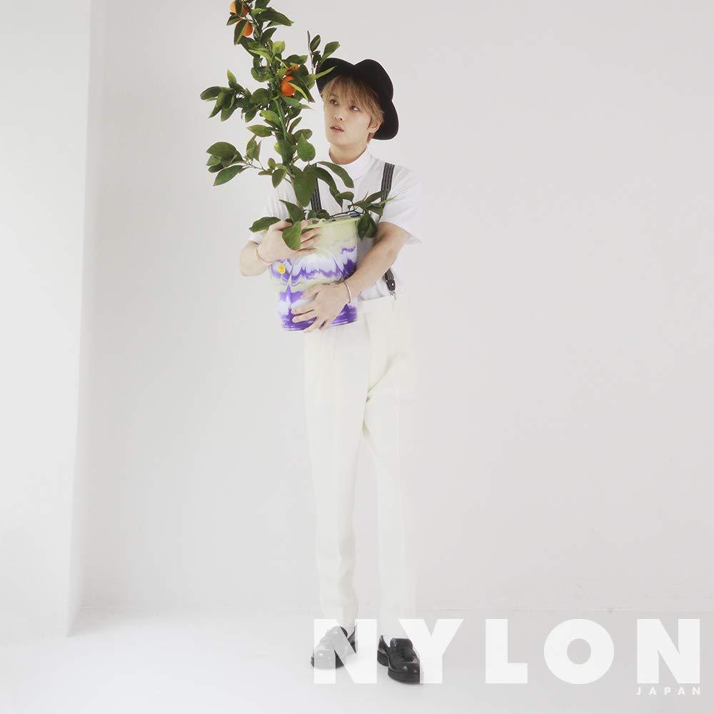 NYLON JAPAN ジェジュン
