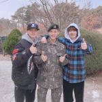 BTOB ミニョク、入隊後初の近況を公開!「僕は元気です」