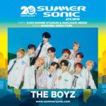 次世代のK-POP界を担うTHE BOYZ、「SUMMER SONIC 2019」、東京・大阪出演決定!