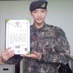 軍服務中の2PM Jun. K、特級戦士に任命、凛々しい写真を公開!