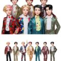 マテル社の「BTS公式フィギュア」、韓国とアメリカで17日から予約販売スタートへ