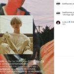 EXO シウミン、軍服務中にベクヒョンのインスタにソロ曲応援コメント残す!