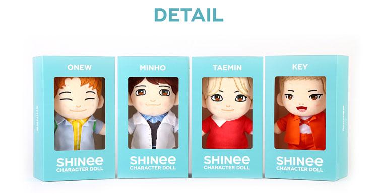 SHINee(シャイニー)キャラクター人形