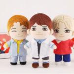 SHINee(シャイニー)のキャラクターぬいぐるみ人形も発売!