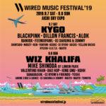 BLACKPINKも出演!東海地区のビッグイベントWIRED MUSIC FESTIVAL'19 」が9/7(土)、9/8(日)にAICHI SKY EXPO 野外多目的利用地にて開催