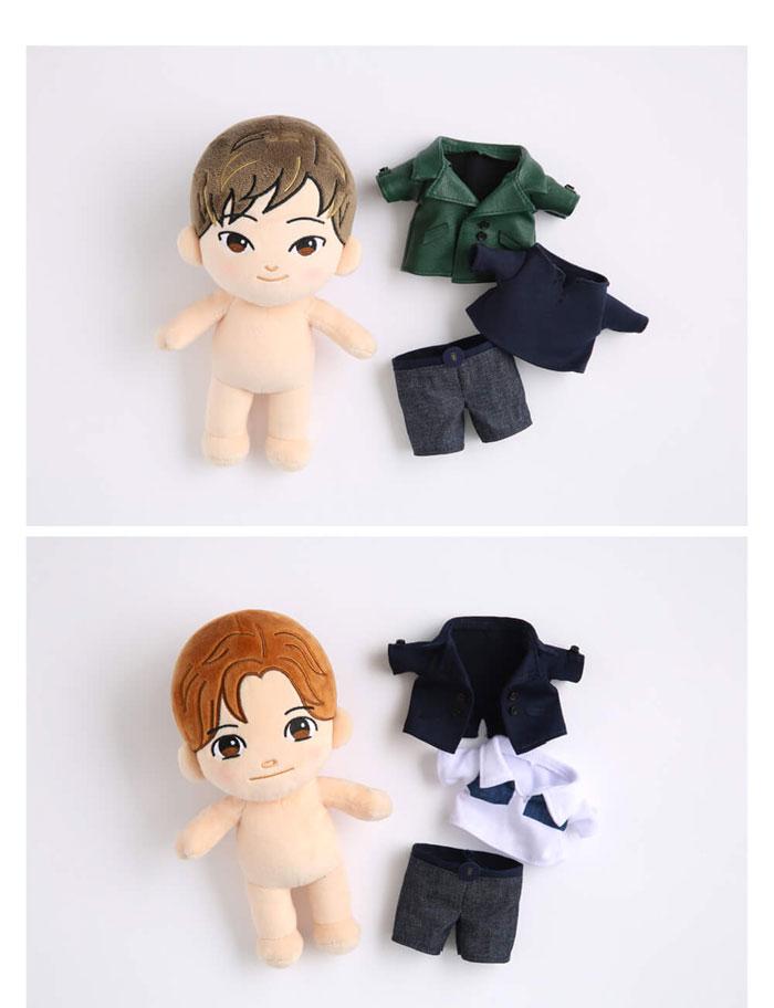 ユンホ チャンミン 人形