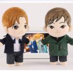 東方神起ユンホ&チャンミン、キャラクターぬいぐるみ人形が9月に発売に