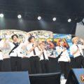 【取材レポ/動画あり】ATEEZ 12月に日本デビュー決定を発表!初の学園祭で圧巻のパフォーマンスを披露