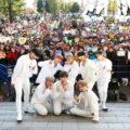 8人組ボーイズグループ「ATEEZ(エイティーズ)」日本デビュー! 東京・お台場のダイバーシティーにてリリース記念イベントを開催