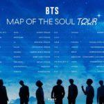 防弾少年団(BTS)、ワールドツアー「BTS MAP OF THE SOUL TOUR」開催!日本は12公演、大阪では6日間開催