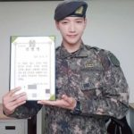 2PM JUN. K、満期除隊!テギョンに続きグループ2番目