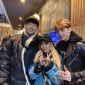 RAIN(ピ)&SE7EN&DARA、仲良し3人組の新年会での写真公開