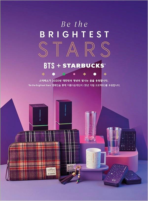 BTS×スタバ韓国