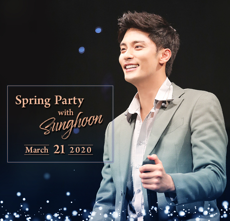 Spring Party with Sunghoon