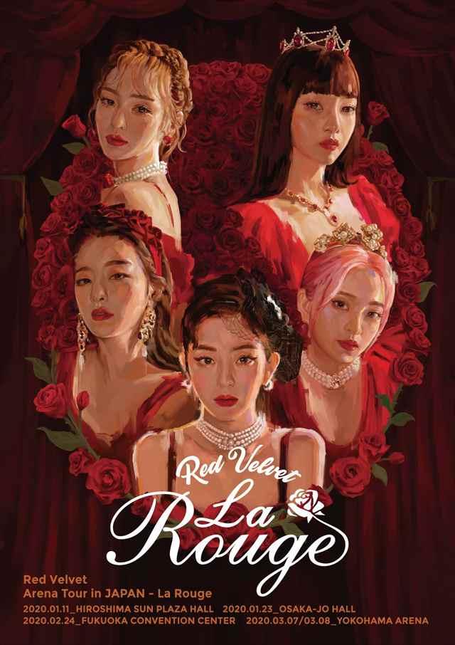 Red Velvet Arena Tour in JAPAN-La Rouge