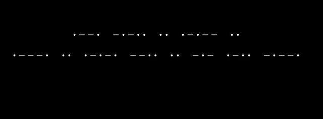 orbitunion モールス符号