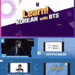 防弾少年団(BTS)と学ぶ韓国語「Learn Korean with BTS」公開へ!