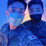 CNBLUE イ・ジョンシン&カン・ミンヒョクがマスクで軍服姿を公開!ジョン・ヨンファもコメント返し、完全体までいよいよD-8
