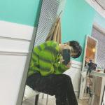 CNBLUE ジョン・ヨンファ、目しか写ってないのにハンサムなビジュアルでファン心掴む