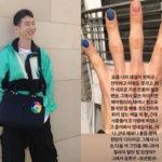 2AM チョ・グォン、ネイル写真公開し「塗ってはいけないというルールはない」