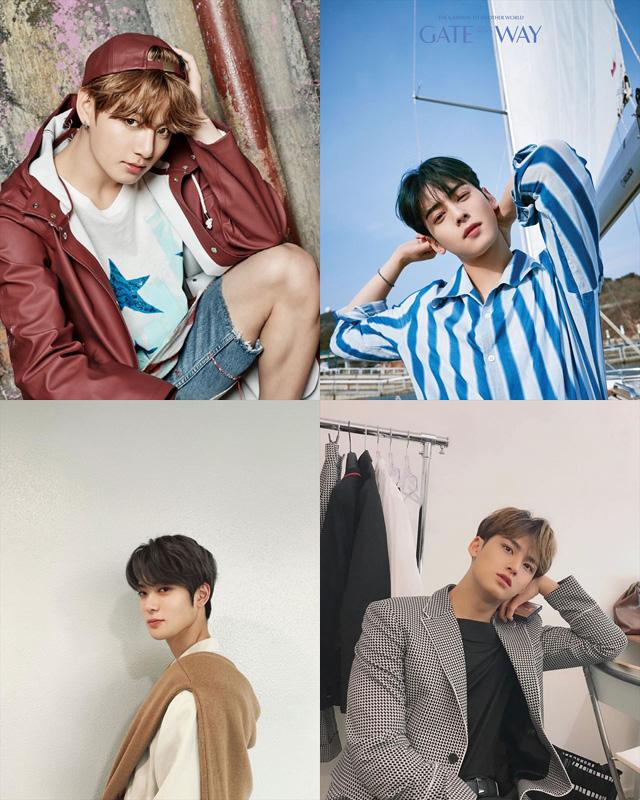BTSジョングク、ASTROチャ・ウヌ、NCTジェヒョン、SEVENTEENミンギュ