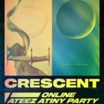 ATEEZ、30日にオンラインファンミーティング「CRESCENT」開催!