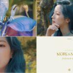 TWICE(トゥワイス)ダヒョン、青と紫が印象的な「MORE&MORE」コンセプト映像とティザーフォト公開