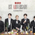 AB6IX(エイビーシックス)デビュー1周年記念オンラインファンミーティングがニコニコ生放送で日本独占生中継決定