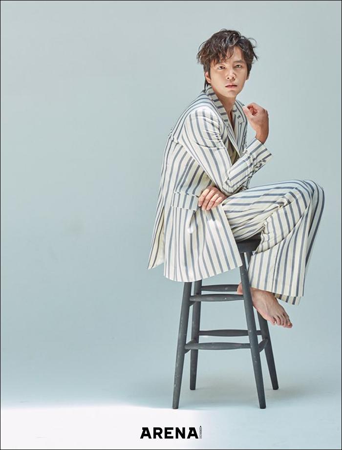 韓国雑誌 ARENA HOMME+(アレナ オンム プラス) 2020年7月号 チャン・グンソク