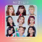 NiziU『Make you happy』がプレデビュー作&わずか1日にして初の1位獲得!MAKOからのコメントも