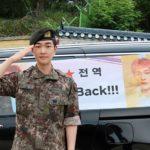 SHINeeオンユ除隊でファンに感謝のメッセージ