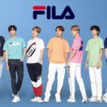 BTSとFILAのコラボグッズプレゼントも! FILA フェア10月7日まで開催中