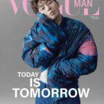 パク・ソジュン香港版「Vogue Man」創刊号の表紙を2種類で飾る!