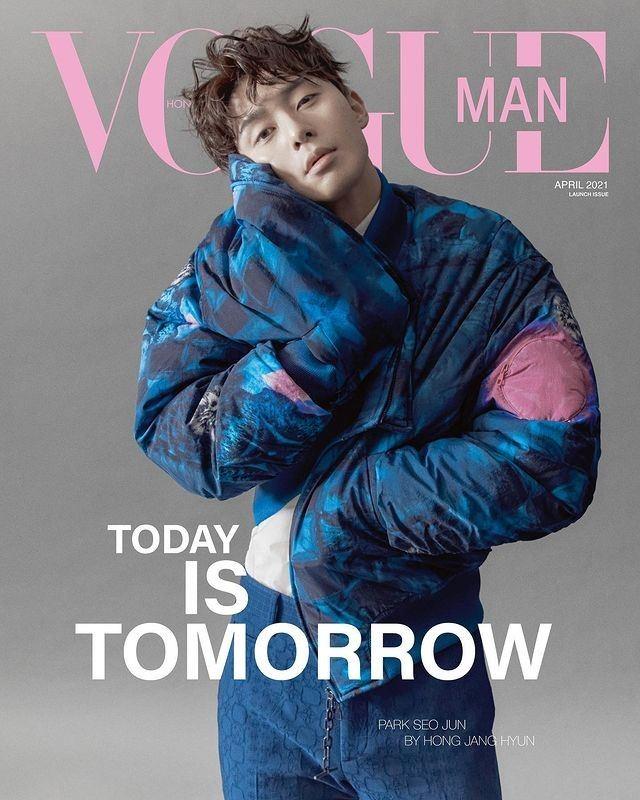 香港版「Vogue Man」創刊号