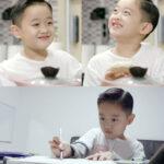 可愛すぎるキム・ジェウォンの息子イジュンくん!パパは雑誌の表紙で元祖殺人スマイル披露