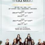 Weki Meki 5月22日&23日に全世界から参加可能なオンラインサイン会開催